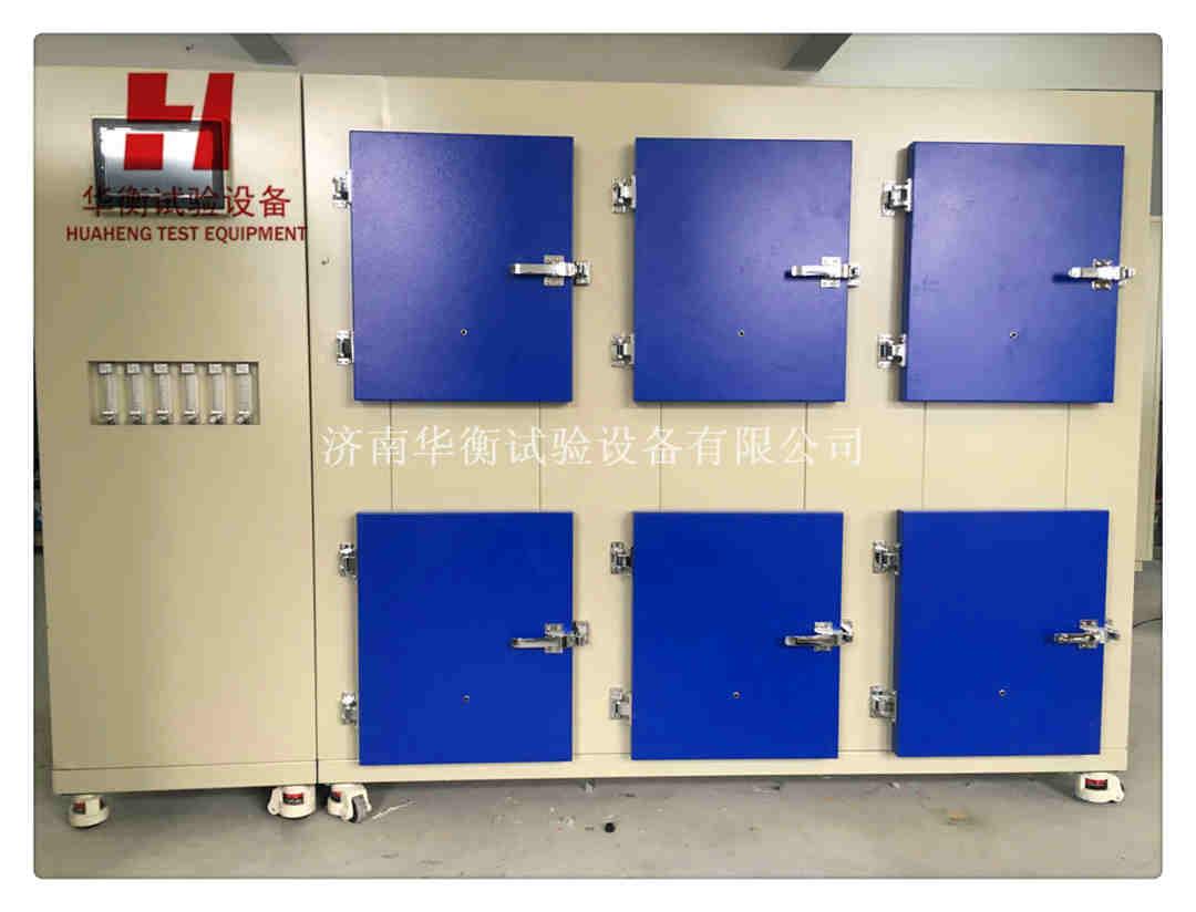 60升六工位塑胶面层小型VOC环境测试舱T/310101002-C003-2016
